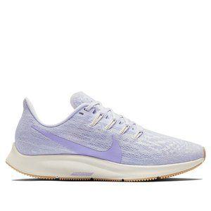 Nike air zoom pegasus 36 lavender running shoe 7.5